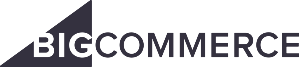 BigCommerce vs Shopify BigCommerce logo dark