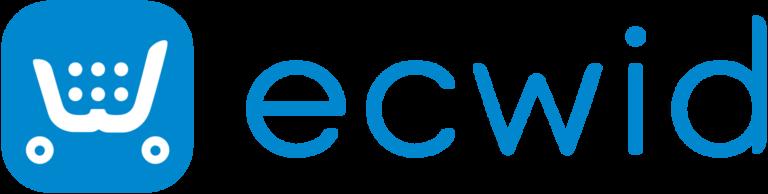 Best 19+ eCommerce Platforms For UK Businesses Ecwid Logo Blue