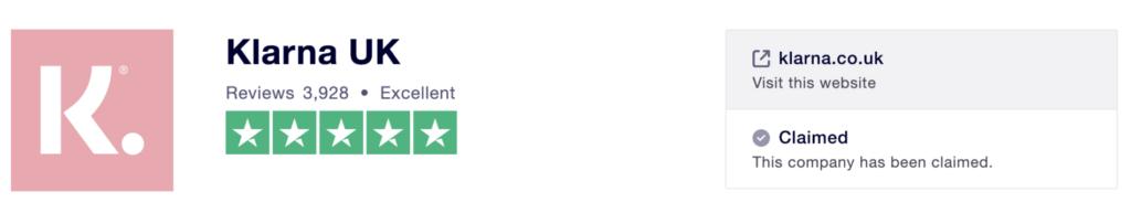 Klarna Review Screenshot 2019 01 28 at 16.18.29