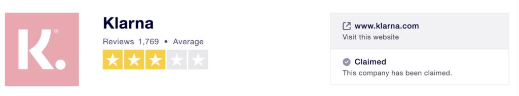 Klarna Review Screenshot 2019 01 28 at 16.18.39