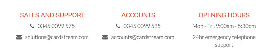 Cardstream Review card stream 2