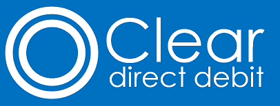 Top 10 Direct Debit & Recurring Payment Options For Small Businesses clear direct debit logo