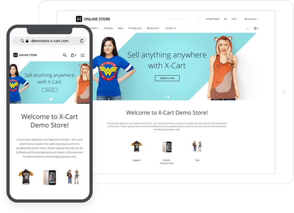 Best 19+ eCommerce Platforms For UK Businesses x cart 1