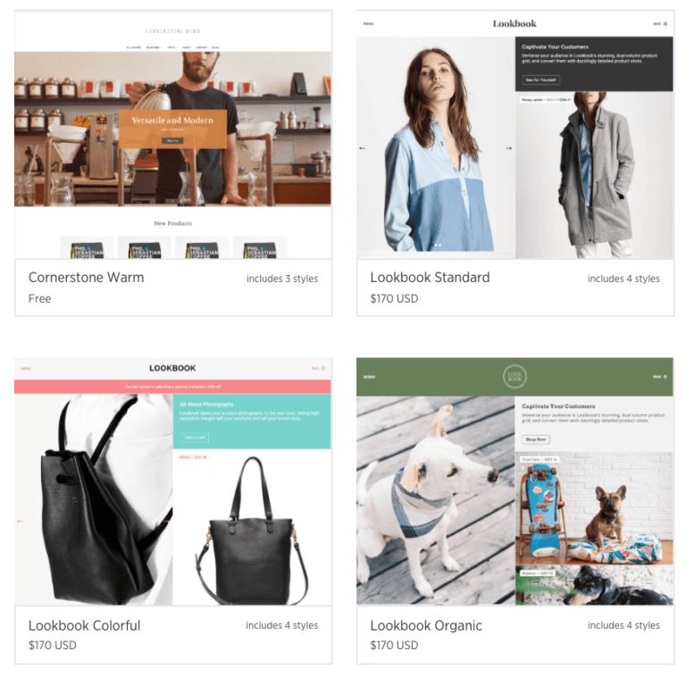 BigCommerce vs Shopify BigCommerce themes
