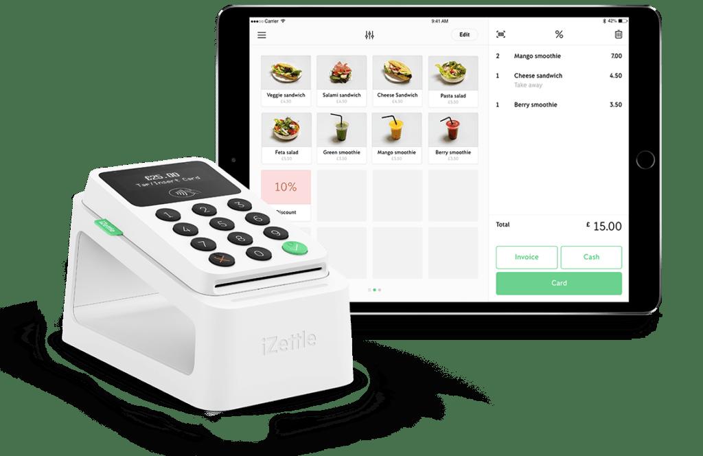 Best EPOS Systems & Tills For Restaurants iZettle Pro EPOS
