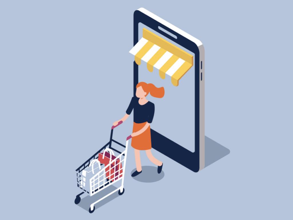 Homepage (New Design) Mobile Ecommerce Statistics